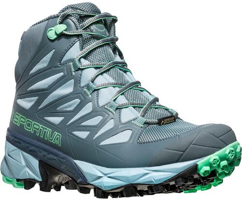 La Sportiva Blade GTX Shoes Women Slate/Jade Green 37 2018 Trekking- & Wanderschuhe z0etu8E